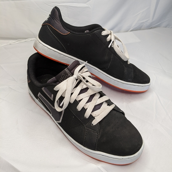 Etnies Skateboard Shoes Fader Black//Navy//Gray